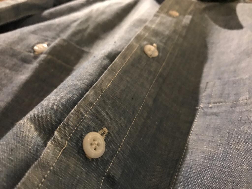 神戸店5/24(水)ヴィンテージウェア&スニーカー入荷!#6  Work Item Part2! Black&Blue Chambray Shirt!!!_c0078587_15594428.jpg