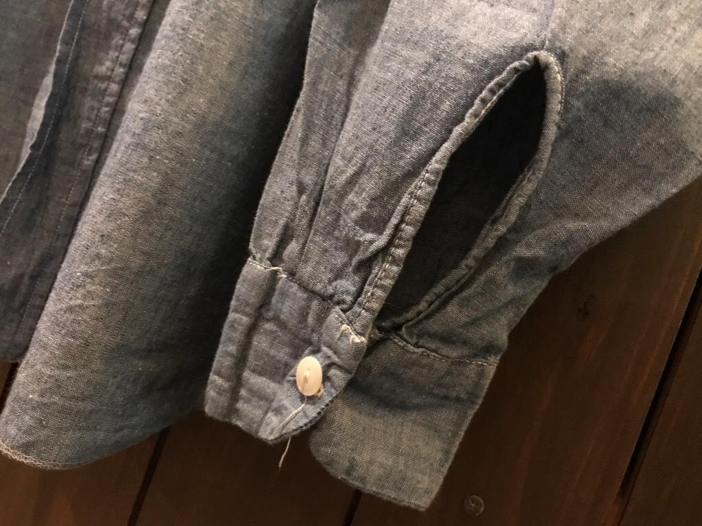 神戸店5/24(水)ヴィンテージウェア&スニーカー入荷!#6  Work Item Part2! Black&Blue Chambray Shirt!!!_c0078587_16022025.jpg