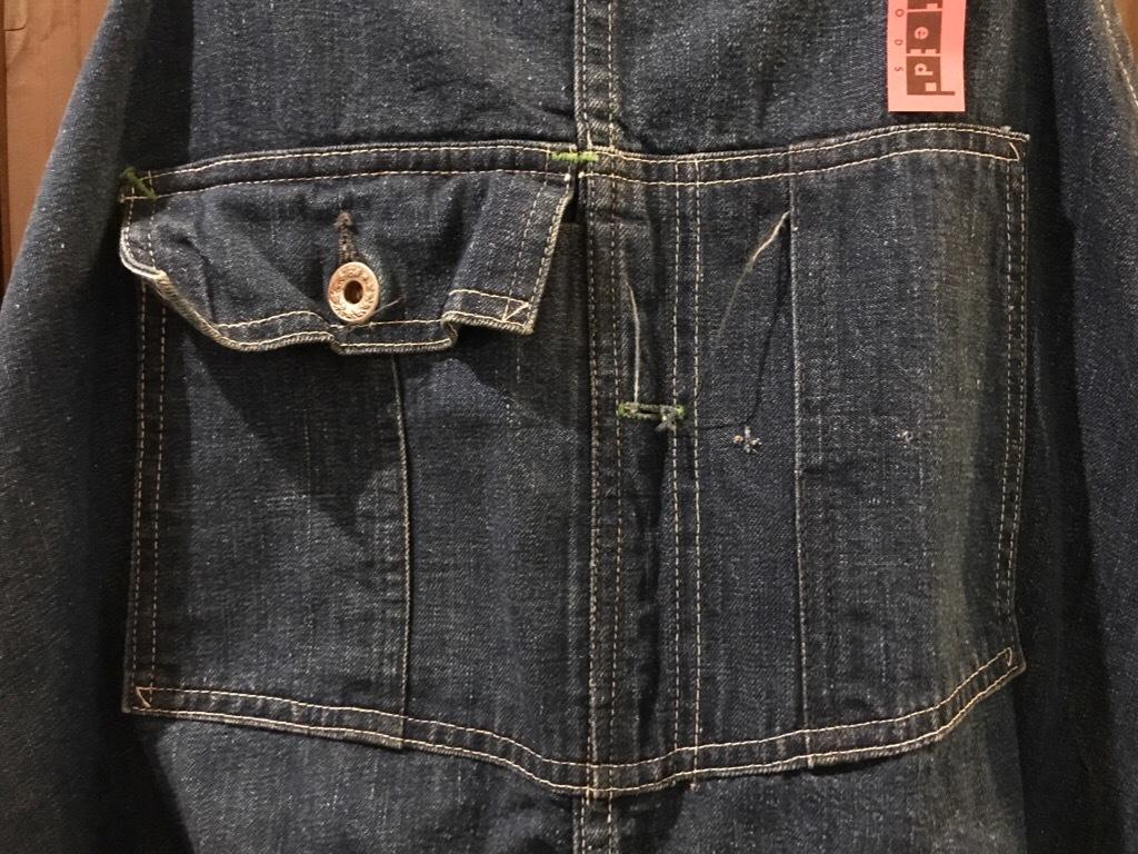 神戸店5/24(水)ヴィンテージウェア&スニーカー入荷!#6  Work Item Part2! Black&Blue Chambray Shirt!!!_c0078587_16033186.jpg