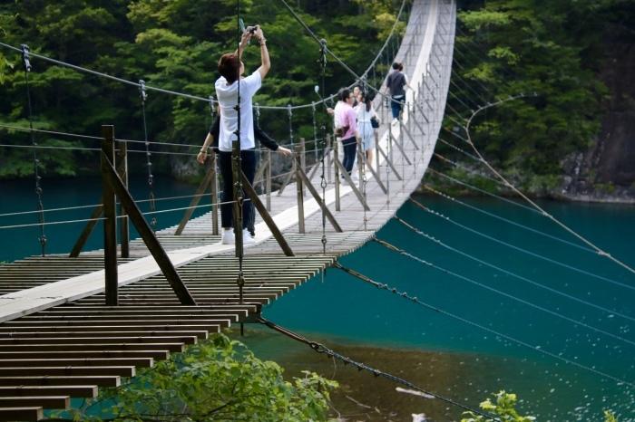 【寸又峡/夢の吊り橋】- 2 -_f0348831_20485908.jpg