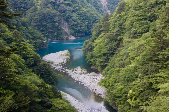 【寸又峡/夢の吊り橋】- 2 -_f0348831_20500231.jpg