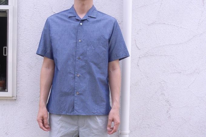 STILL BY HAND コットン/リネン S/Sシャツ_d0334060_15121719.jpg