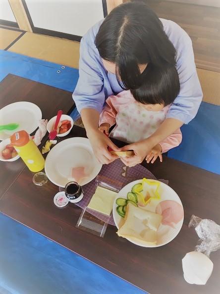 親子で一緒にサンドイッチを作ろう!:5月23日火曜日_b0079382_1447417.jpg