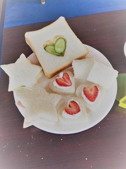 親子で一緒にサンドイッチを作ろう!:5月23日火曜日_b0079382_14483671.jpg