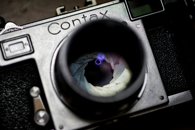 ★つい魔が差して。。。〔Contax IIa+Zeiss-Opton Sonnar T 50mm f1.5〕_e0291683_22390421.jpg