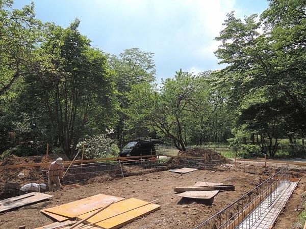 小淵沢N松さん邸の現場より 4_a0211886_21383442.jpg