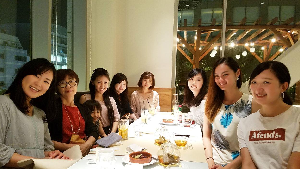 卒業生chanと、楽しいお食事会♡_d0224894_03375895.jpg