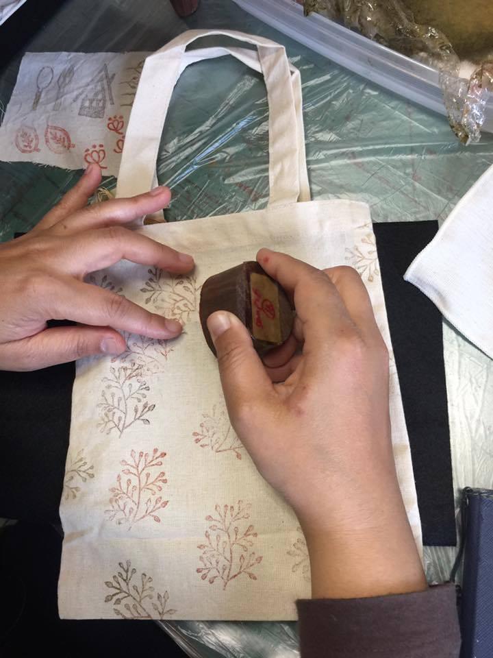 6/2〜4【FABRIC OF INDIA】サモサを食べよう!ブロックプリントをしよう!_b0184796_13110879.jpg