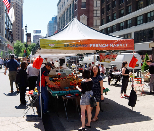 ブロードウェイ・フレンチ・マーケット Broadway French Market_b0007805_21271463.jpg