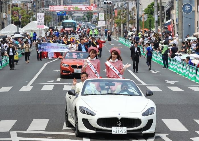 """第50回 福山 """"ばら祭 2017\"""" ー感謝とともに、未来への1歩をー_a0140608_07235021.jpg"""
