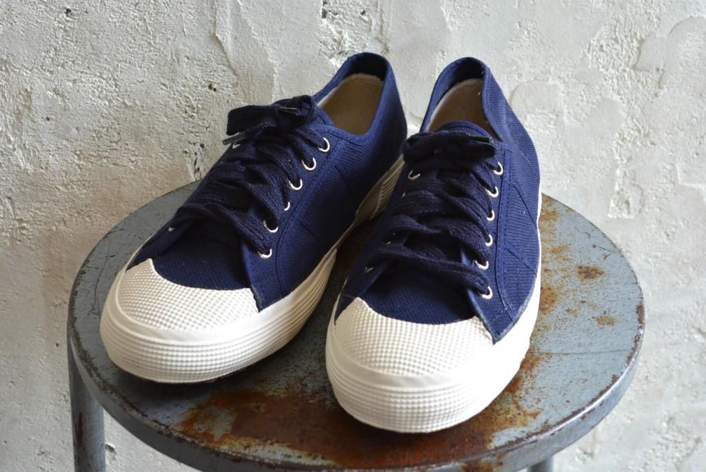 Italian navy sneaker dead stock_f0226051_14170619.jpg
