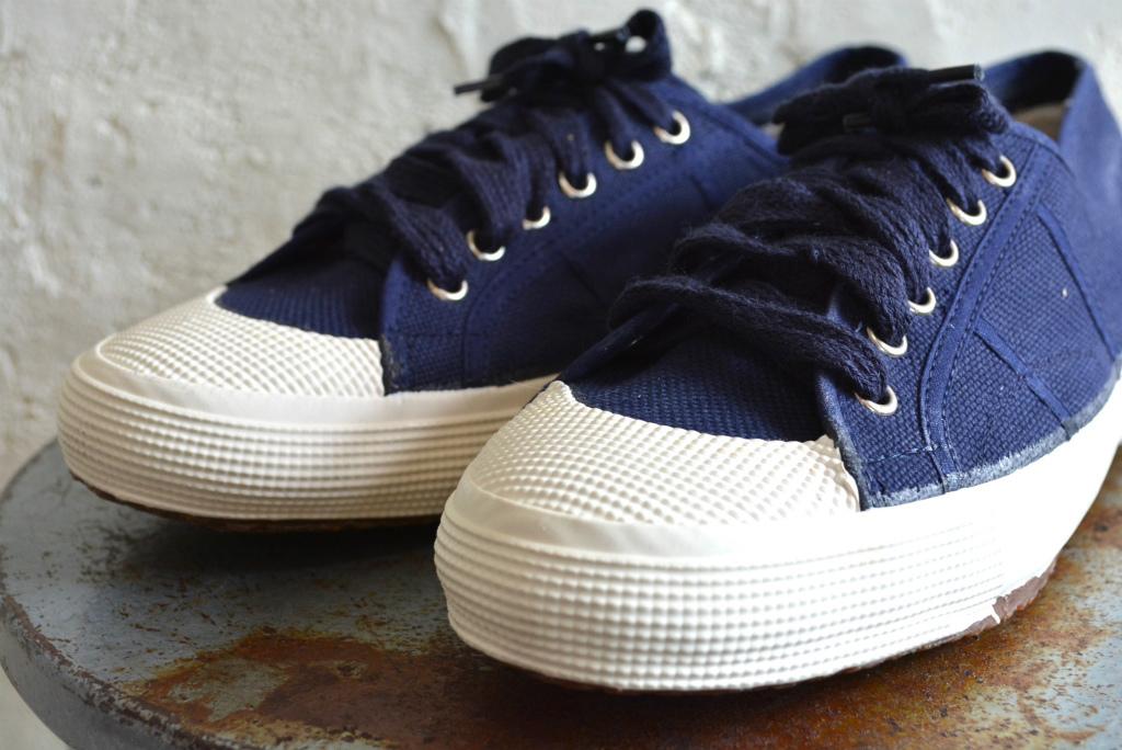 Italian navy sneaker dead stock_f0226051_14202277.jpg