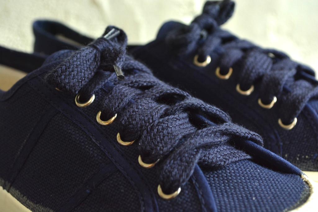 Italian navy sneaker dead stock_f0226051_14202593.jpg