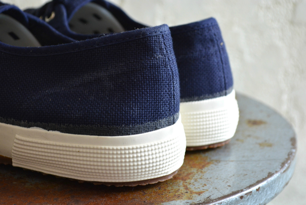 Italian navy sneaker dead stock_f0226051_14203188.jpg