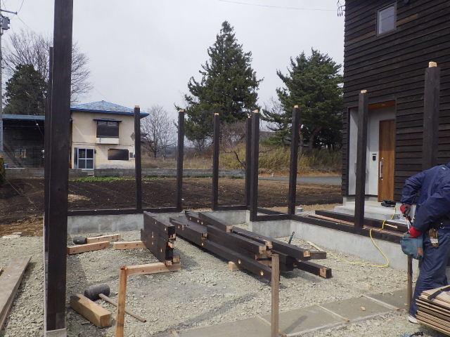 木造ガレージを造る  続き_f0105112_4204111.jpg