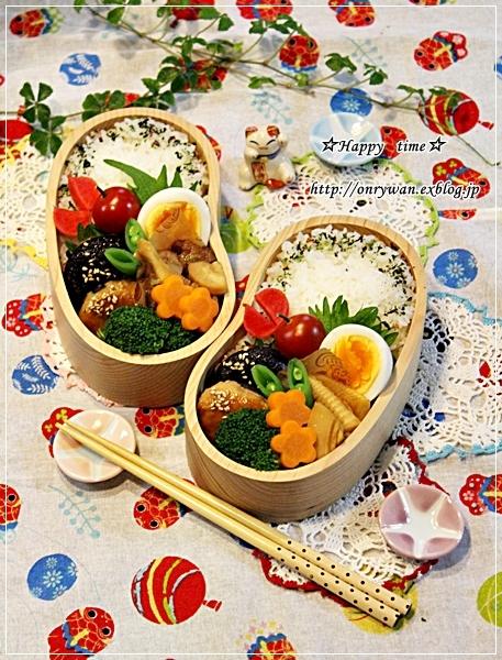 椎茸つくねの照焼き弁当とバラ・アイスバーグ♪_f0348032_18022966.jpg