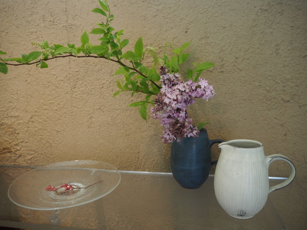 花を入れ替えました_b0132442_18583623.jpg
