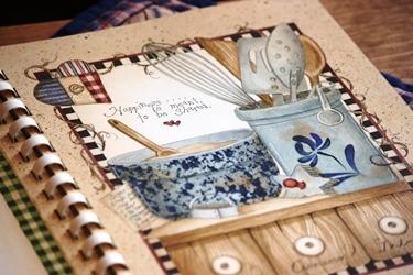 フレームの絵のような Linda Spivey さんの料理本_f0161543_11243097.jpg