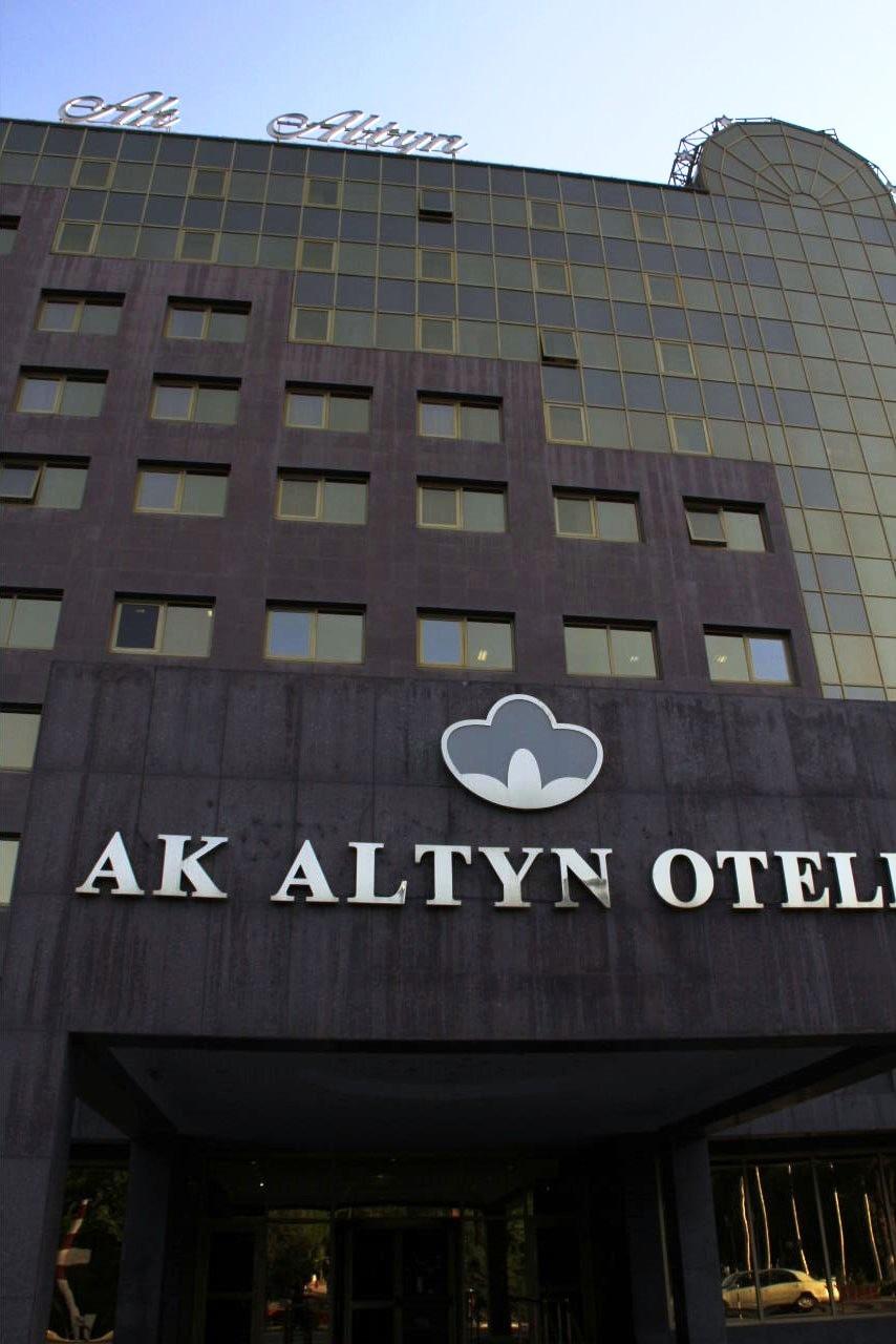 トルクメニスタンの旅(13) アシハバードの夜景と夕食とホテル_c0011649_23482881.jpg