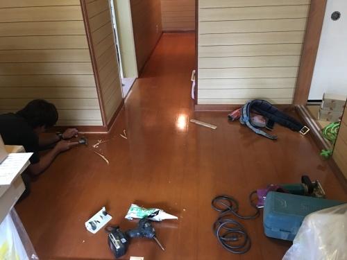 「浴室、洗面、ホール改築工事」@内灘_b0112351_19340282.jpg
