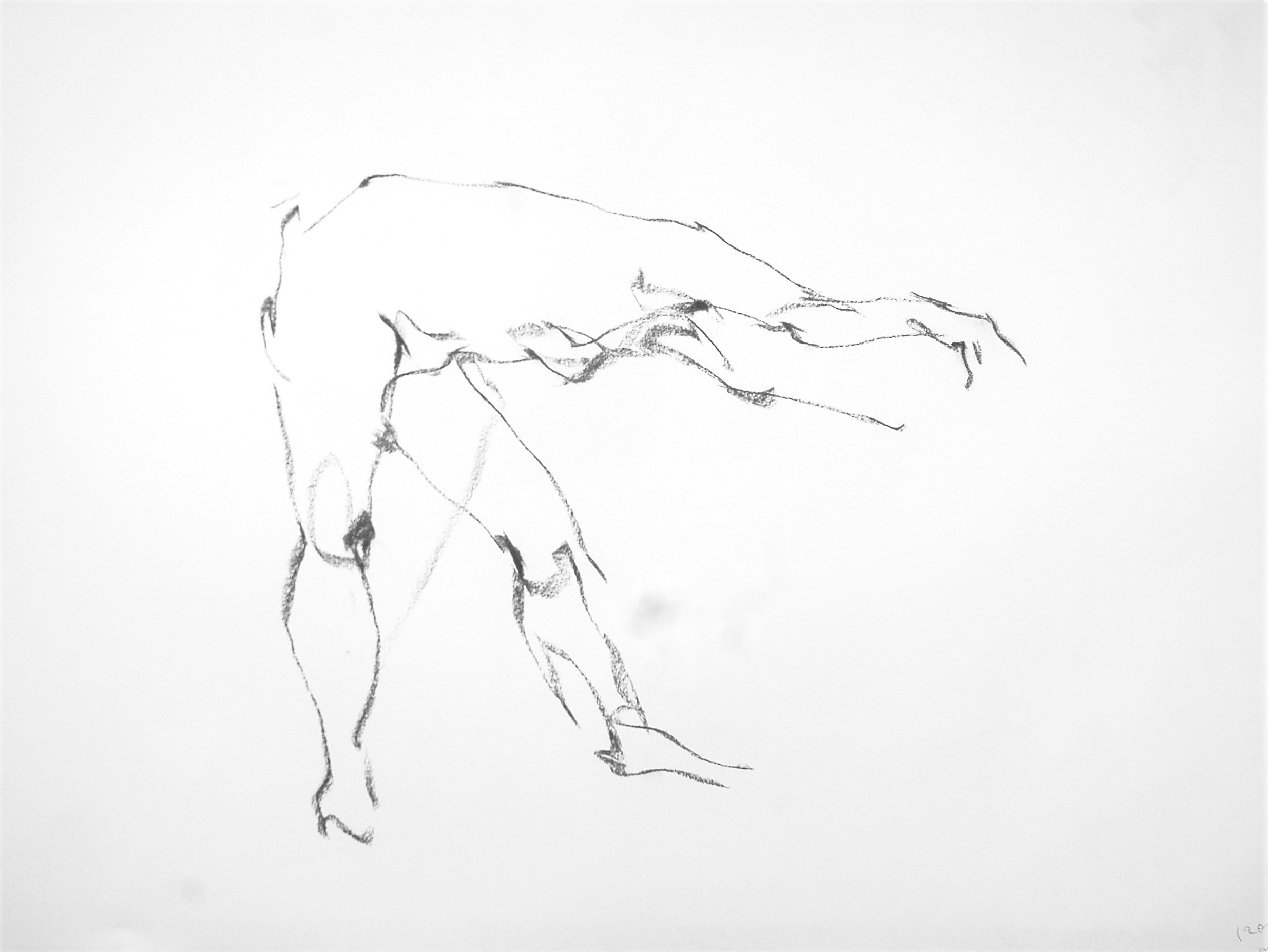 《 (Moveing) ―― 連続する90 second croquis  2 》 _f0159856_22032184.jpg