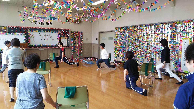 オリヅル舞う中でゴムゴム体操~♪(^o^)丿_d0191262_17263210.jpg