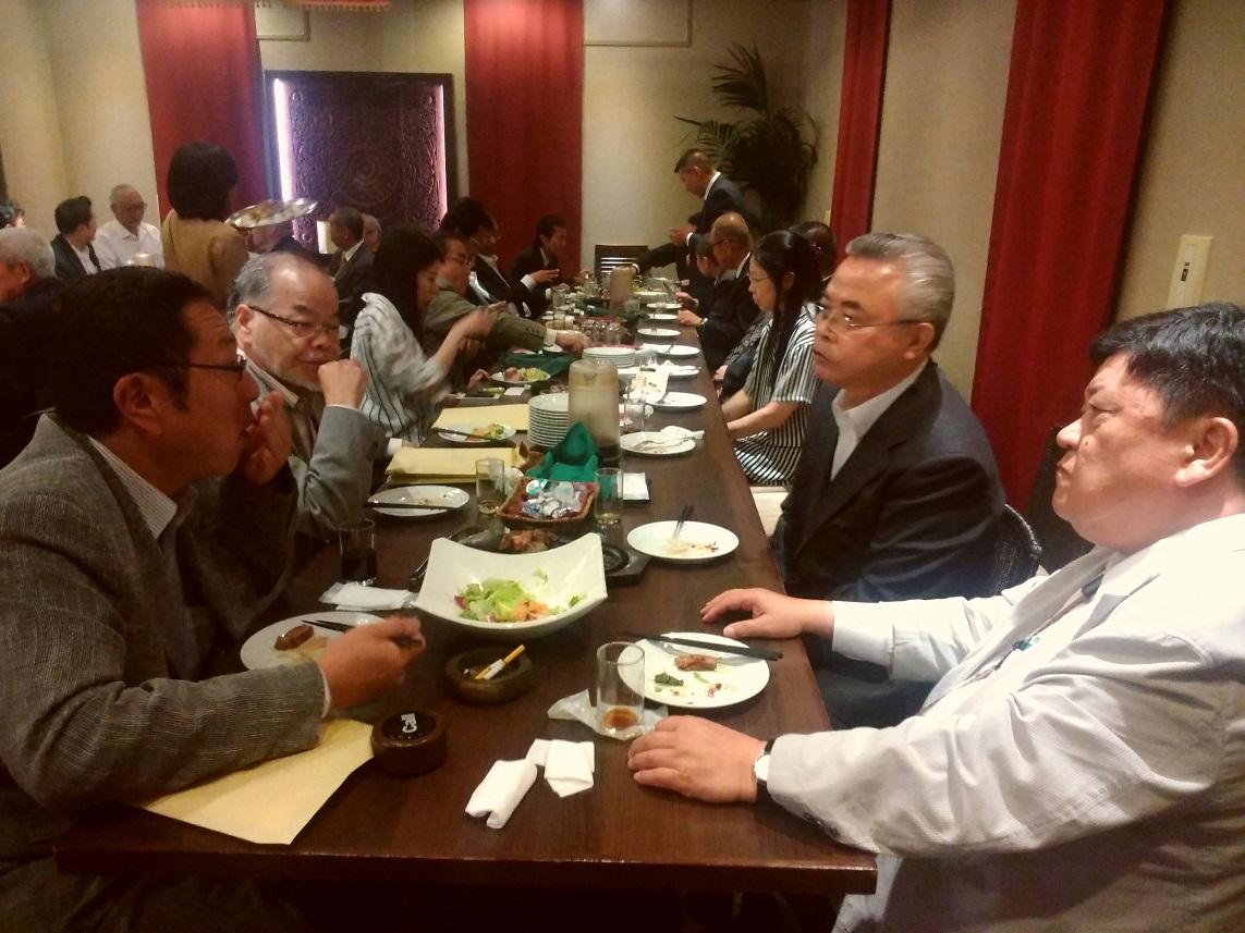 平成廿九年 五月廿三日 第四囘 朱光出版社講演會參加 於新宿區_a0165993_22213466.jpg