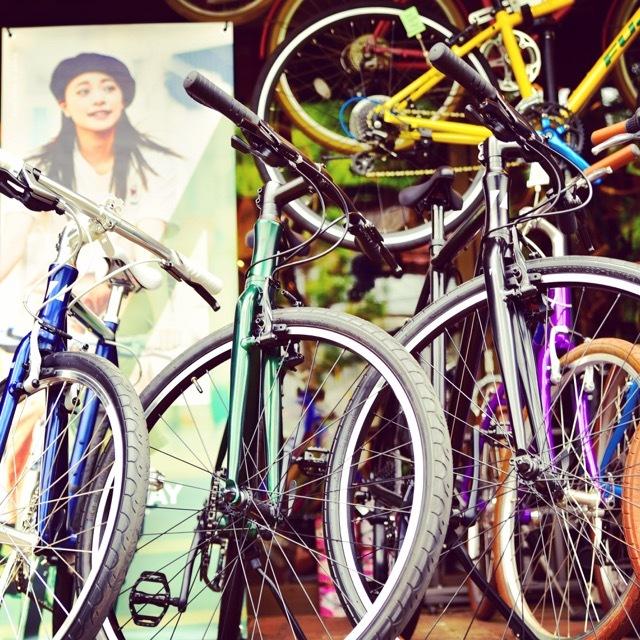 ライトウェイ・ポップアップ試乗会「RITEWAY 2018 POP UP」新作 シェファード クロスバイク 自転車ガール 自転車女子 リピト_b0212032_10424692.jpg