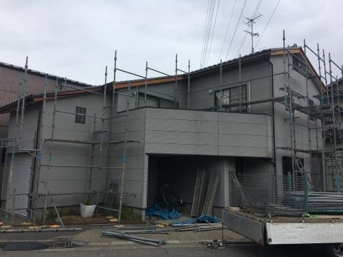 「外部廻り修繕工事」@金沢市_b0112351_16244737.jpg
