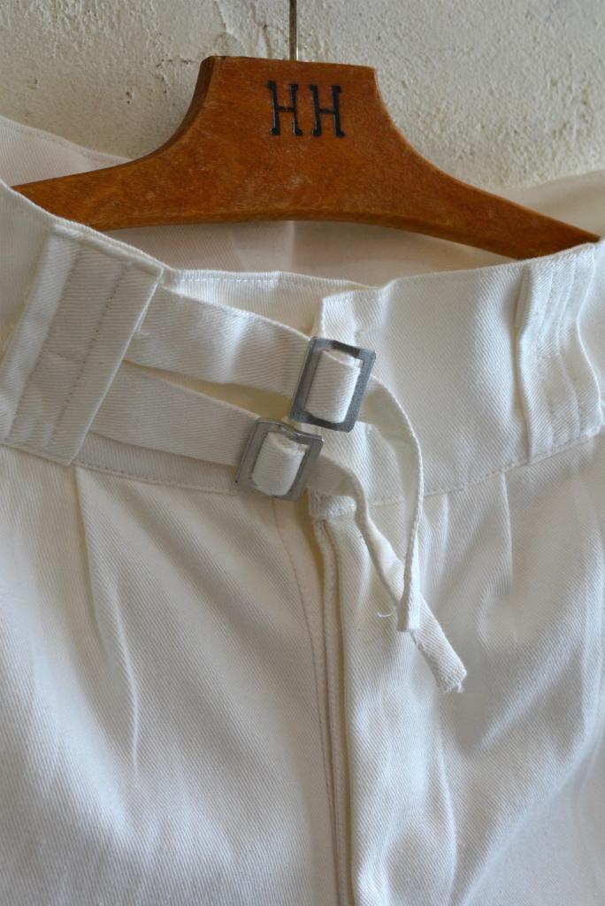 Italian navy chino shorts white (gurkha shorts) DEAD STOCK_f0226051_14284420.jpg