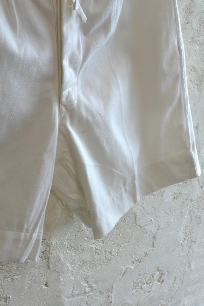 Italian navy chino shorts white (gurkha shorts) DEAD STOCK_f0226051_14301724.jpg