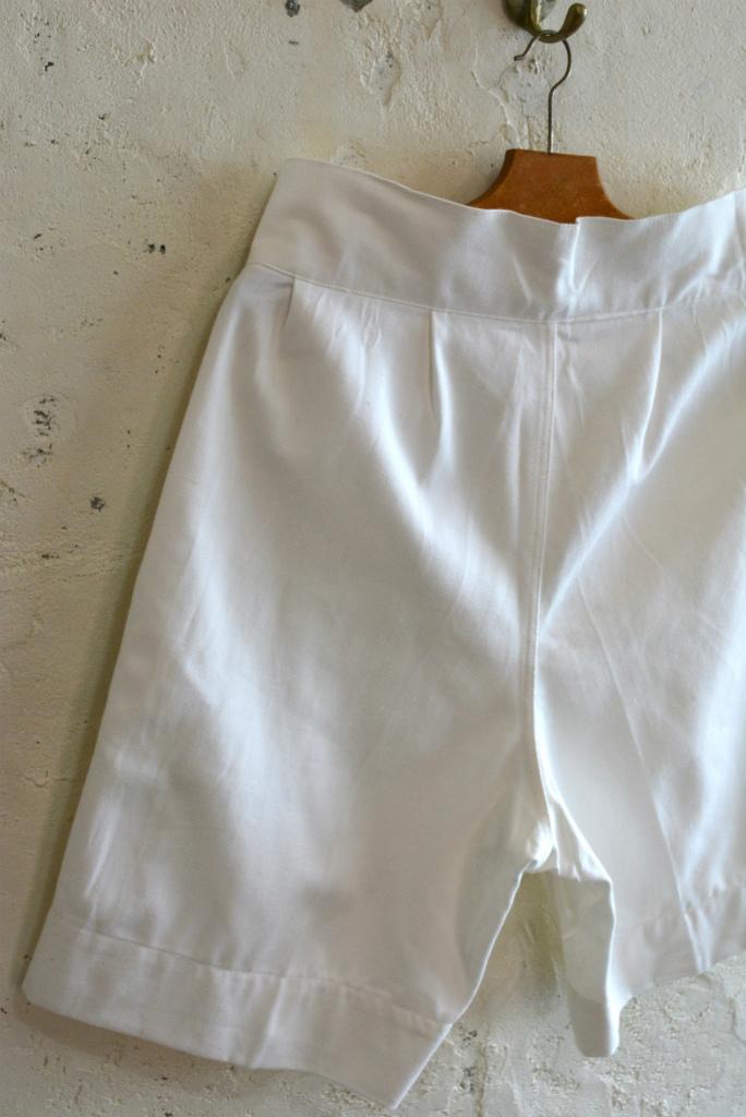 Italian navy chino shorts white (gurkha shorts) DEAD STOCK_f0226051_14314038.jpg