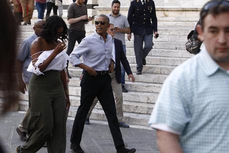 イタリアにやって来た前大統領と現大統領_a0136671_03494954.jpg