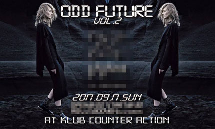 本日のライブ(KLUB COUNTER ACTION)_a0119383_16574753.jpg