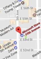 NYの5番街のマイクロソフト・ストアにあるペットボトル専用の自動給水ステーション_b0007805_21294578.jpg