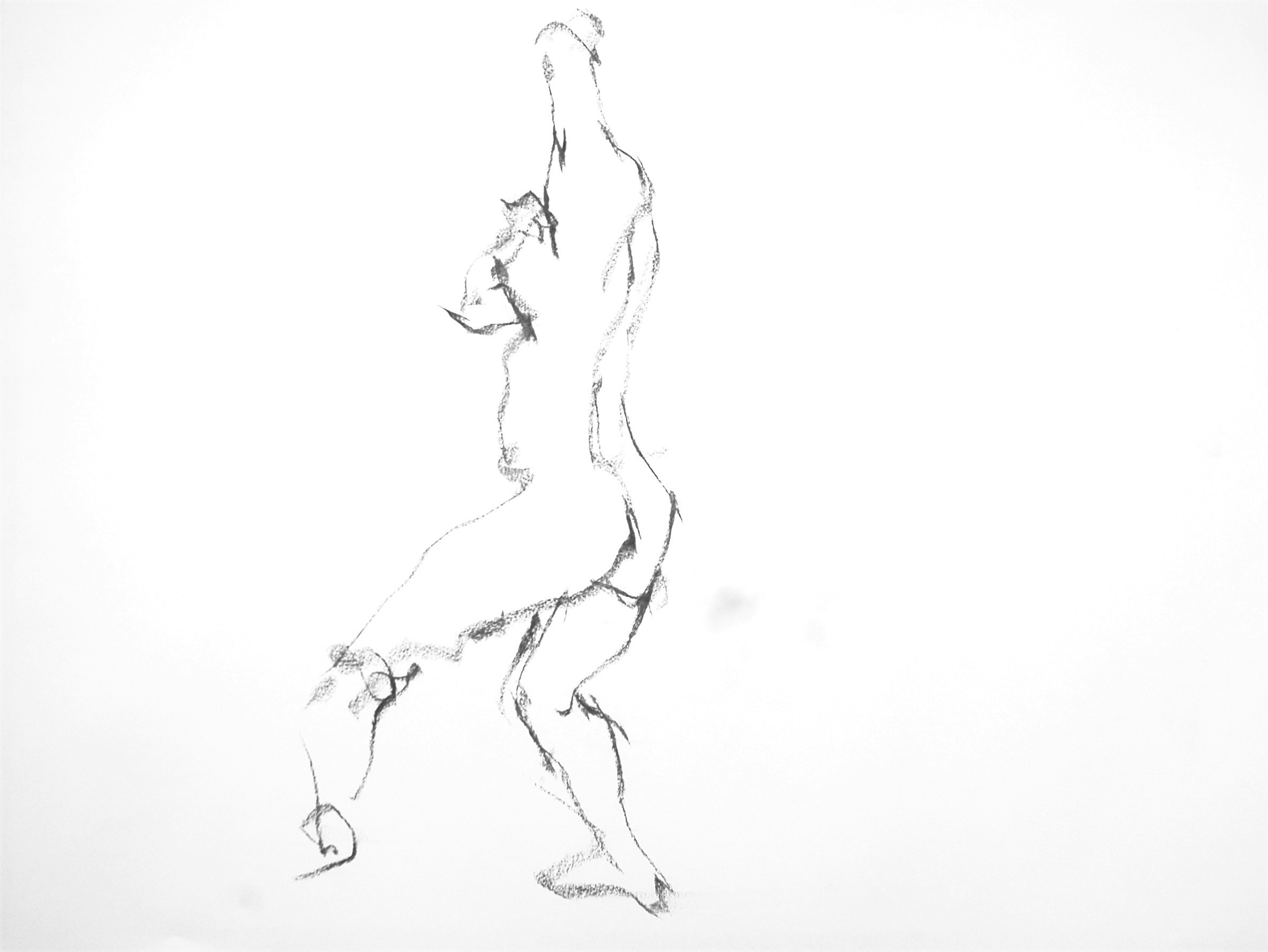 《 (Moveing) ―― 連続する90 second croquis  4 》 _f0159856_07374386.jpg