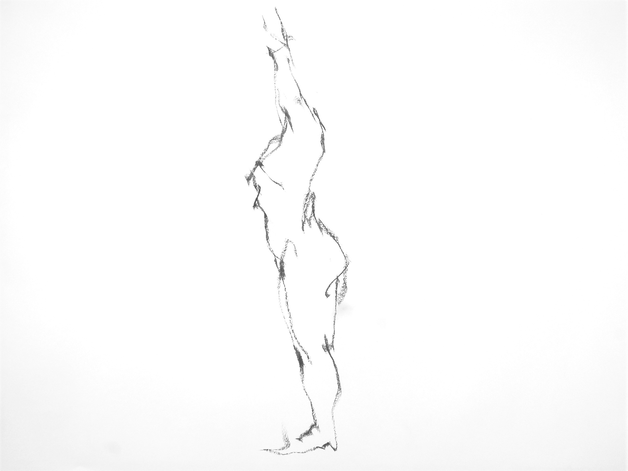 《 (Moveing) ―― 連続する90 second croquis  5 》_f0159856_07433842.jpg
