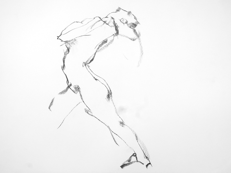 《 (Moveing) ―― 連続する90 second croquis  6 》_f0159856_07472066.jpg