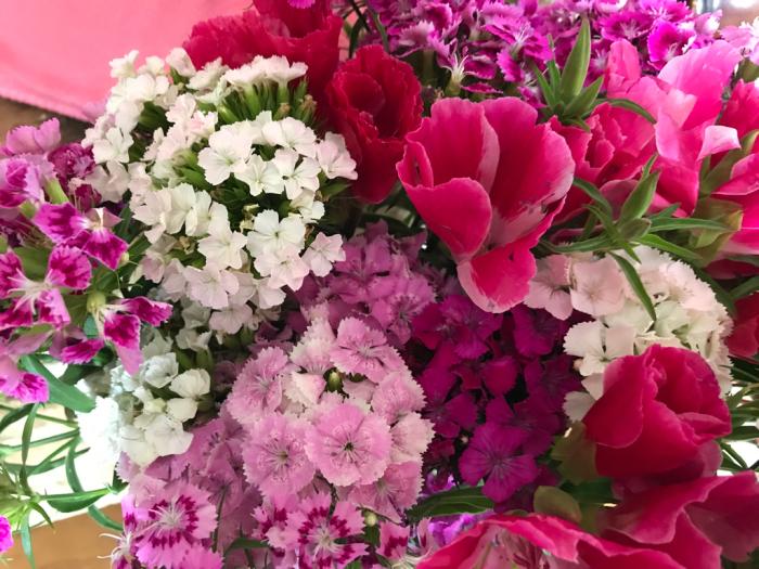 チェリーの花(フラワーアレンジメント)_e0233674_10270124.jpg