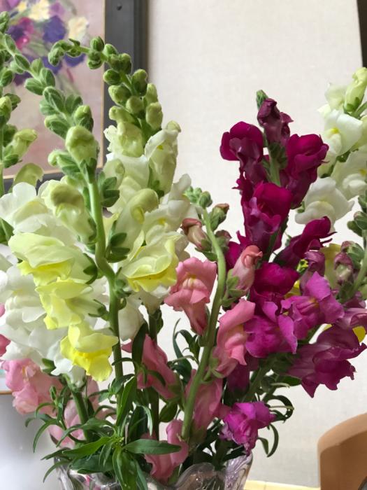 チェリーの花(フラワーアレンジメント)_e0233674_10270232.jpg