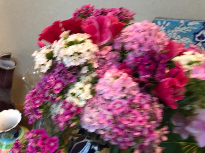 チェリーの花(フラワーアレンジメント)_e0233674_10270240.jpg