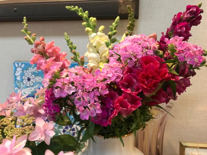 チェリーの花(フラワーアレンジメント)_e0233674_10270349.jpg