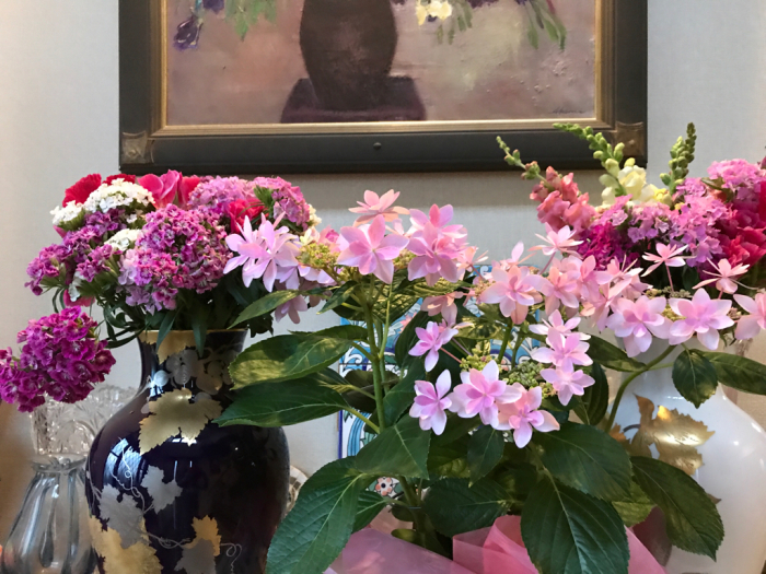 チェリーの花(フラワーアレンジメント)_e0233674_10270399.jpg