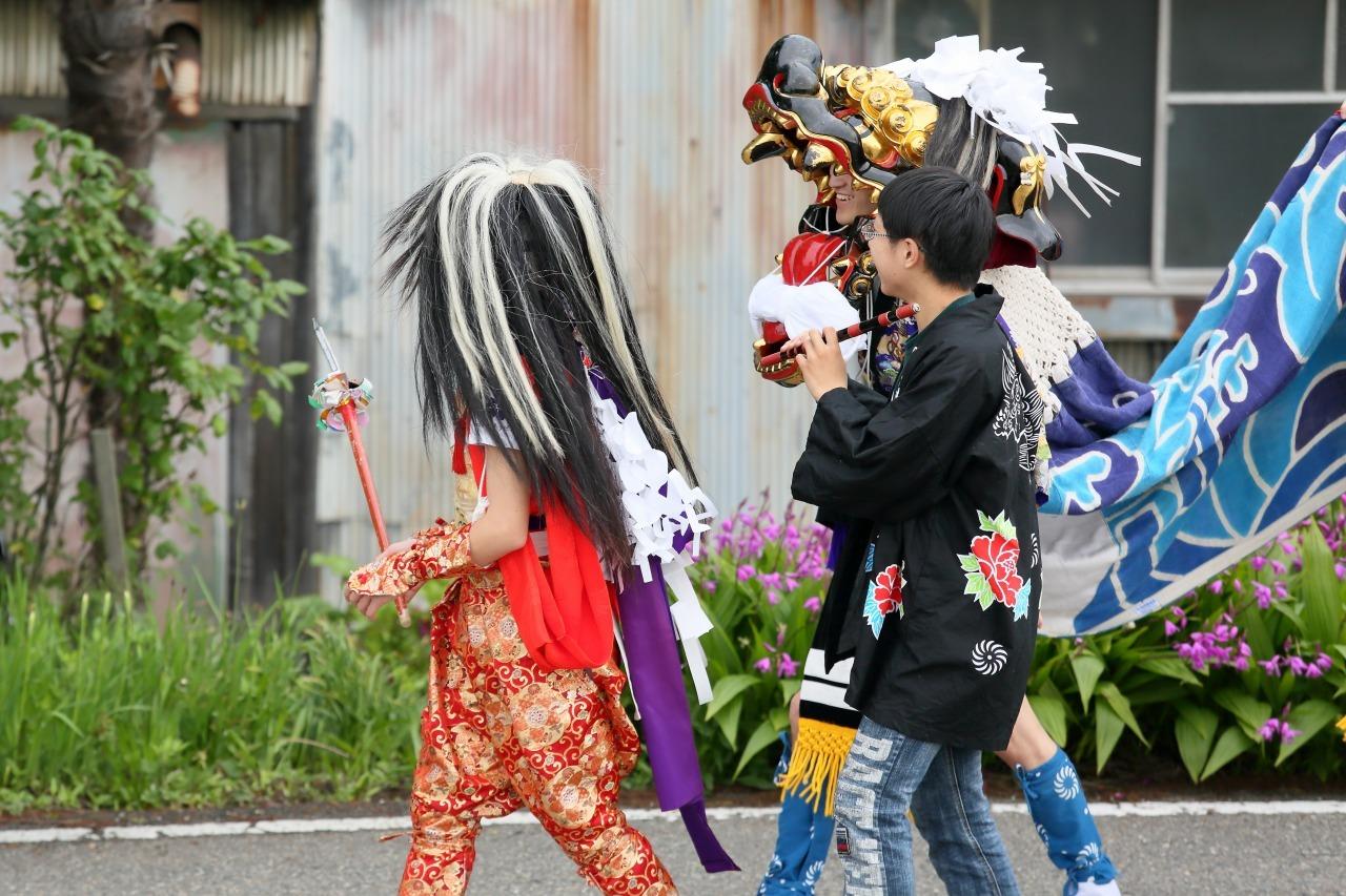 六渡寺の獅子舞 その1_c0196076_23292649.jpg