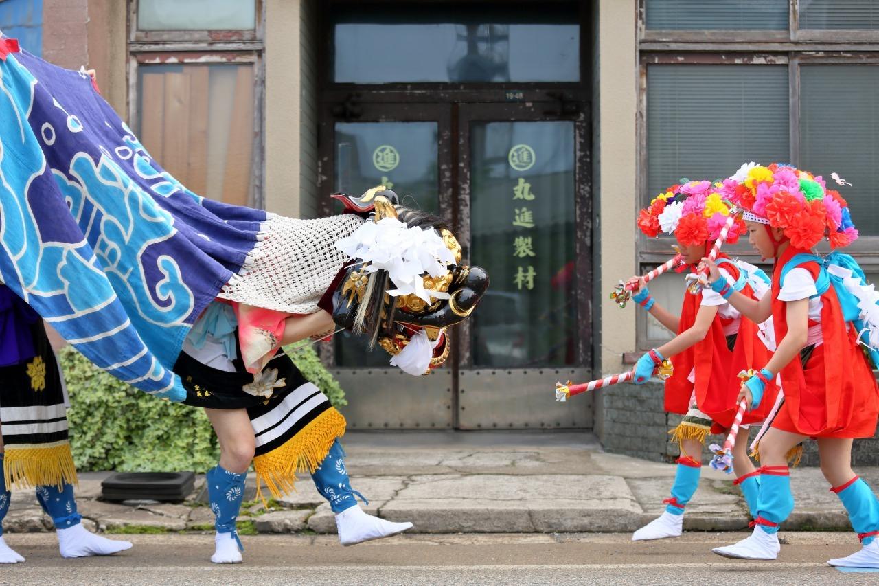 六渡寺の獅子舞 その1_c0196076_23292886.jpg