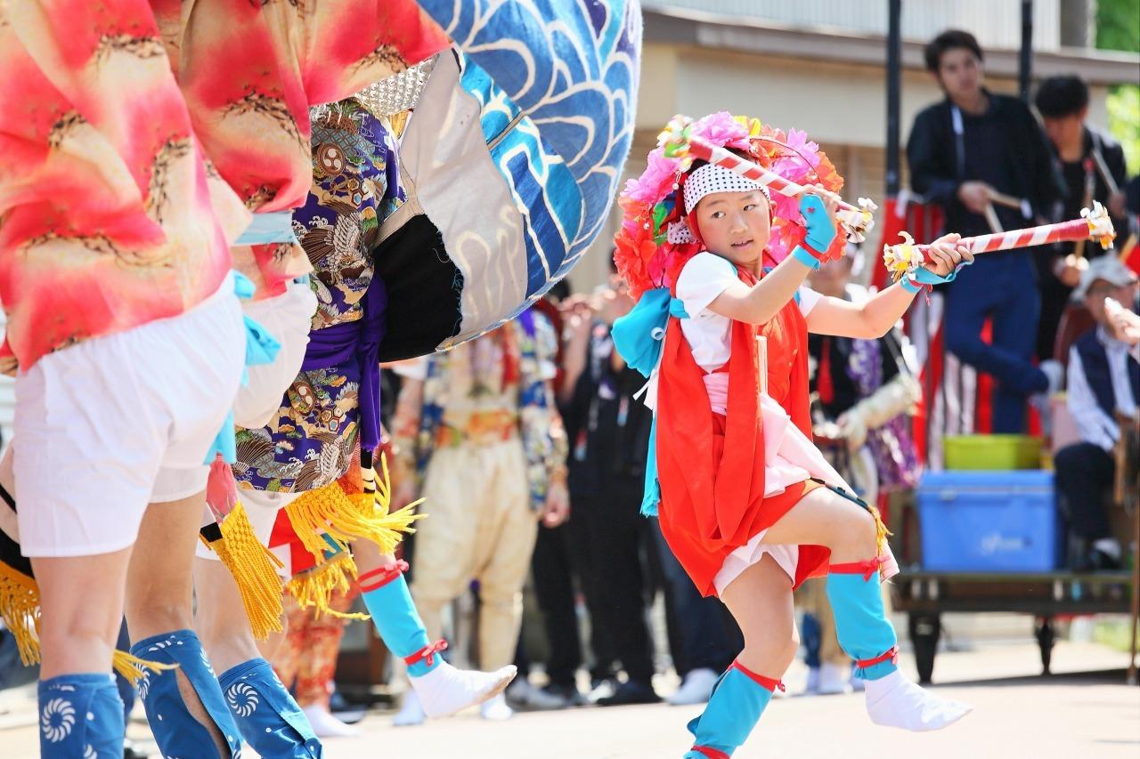 六渡寺の獅子舞 その1_c0196076_23412302.jpg