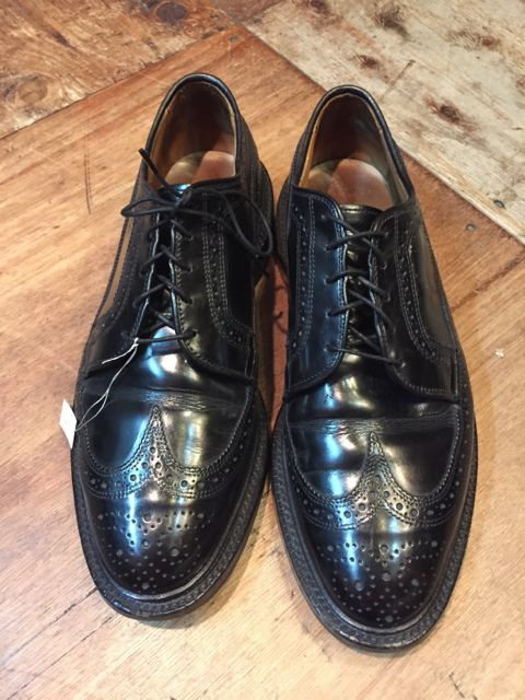 USED WING TIP SHOES  by Allen Edmonds ! MADE IN U.S.A_c0144020_18403501.jpg