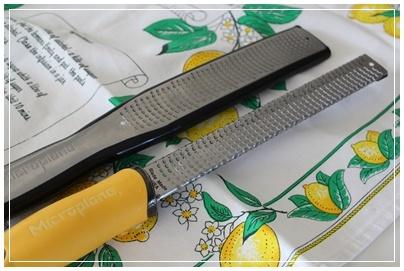 お気に入りの調理器具 マイクロプレイン社 ハーブカッター_c0141025_17542438.jpg