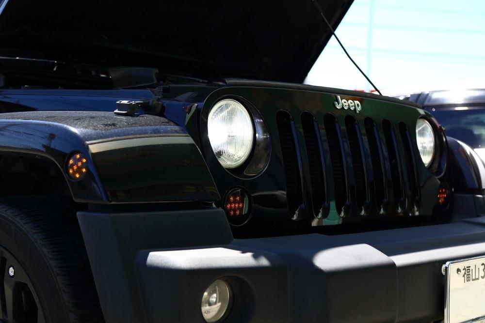 JKU LEDヘッドランプ交換からジムニーへナビ取り付けなど_f0105425_18113866.jpg
