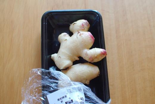 新生姜で、桃色ジンジャーシロップを作る_c0110869_643182.jpg
